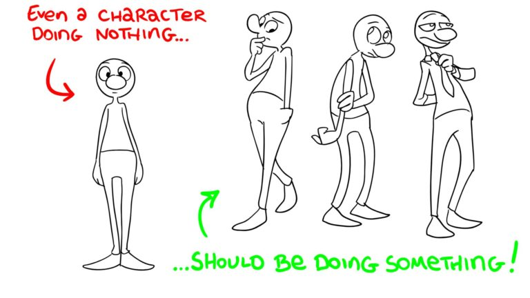 Perfect Posing – 1 – Listen to the character… and to physics