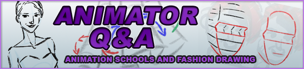 Animator Q&A: Animation School and Fashion Drawing