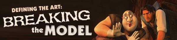 Breaking the model in 3D animation