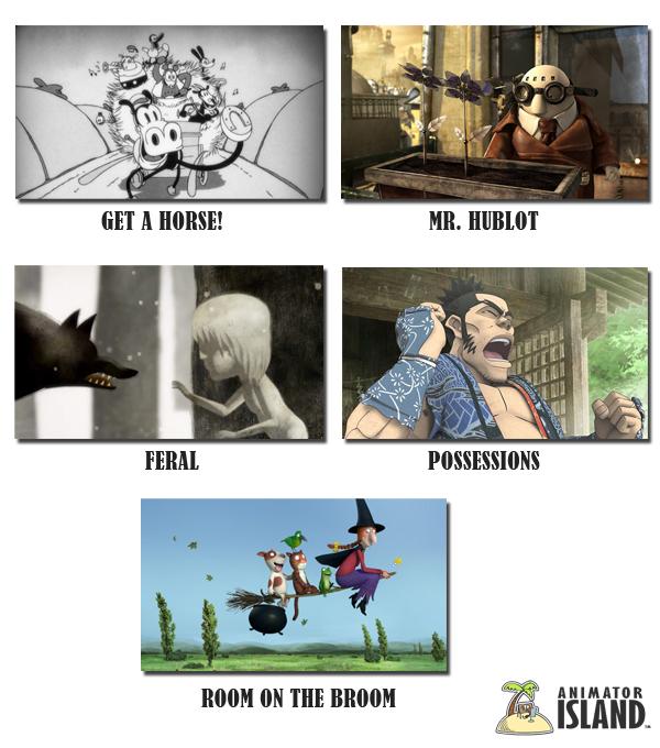 Animated Shorts nominated for Oscars 2014