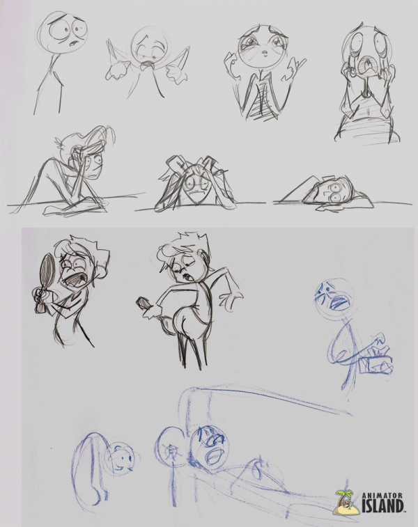 Some examples of animation thumbnails