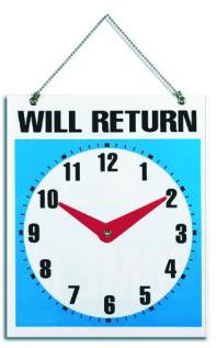 We Will Return!