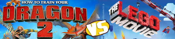 Giveaway! Dragons 2 vs. The Lego Movie