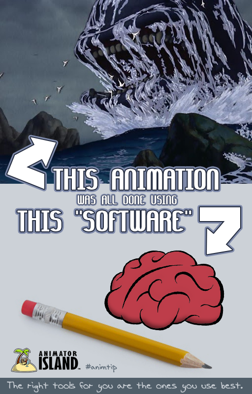 The right animation software for you is the one you use best!