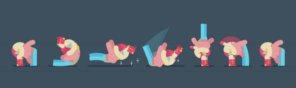 Animated Gif loop breakdown