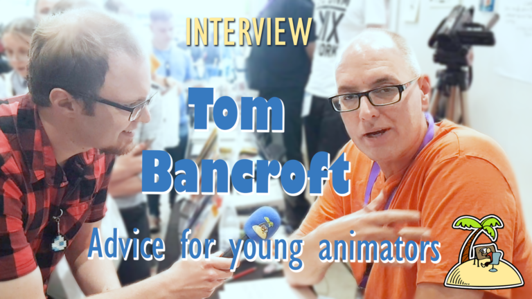 Tom Bancroft's Advice for Young Animators