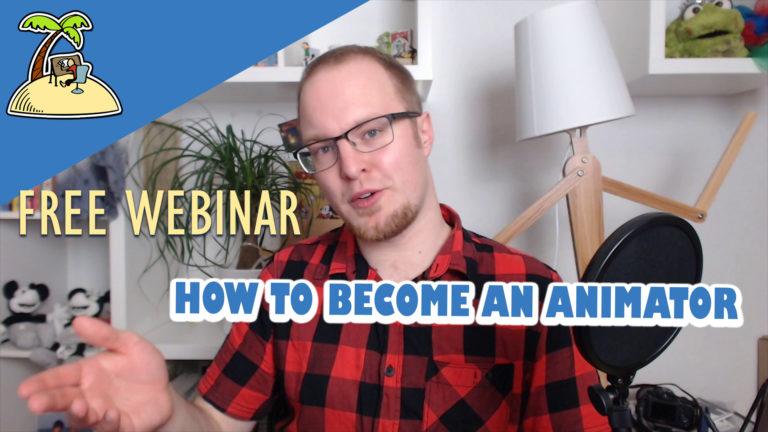 How to Become an Animator – Webinar Replay