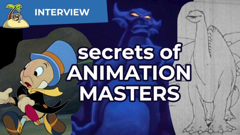 Secrets and Inspiration from Animation History – John Canemaker Interview FMX 2019