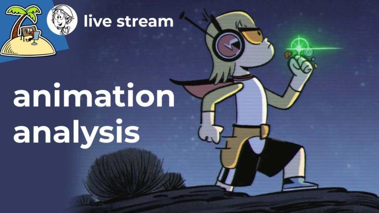 Live Stream: Kid Cosmic – Animation Analysis